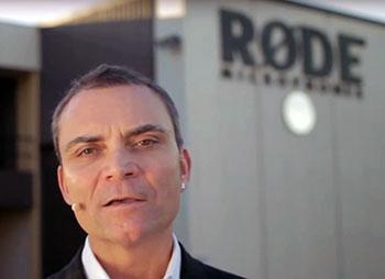 Peter Freedman - Gründer und Chef von Rode