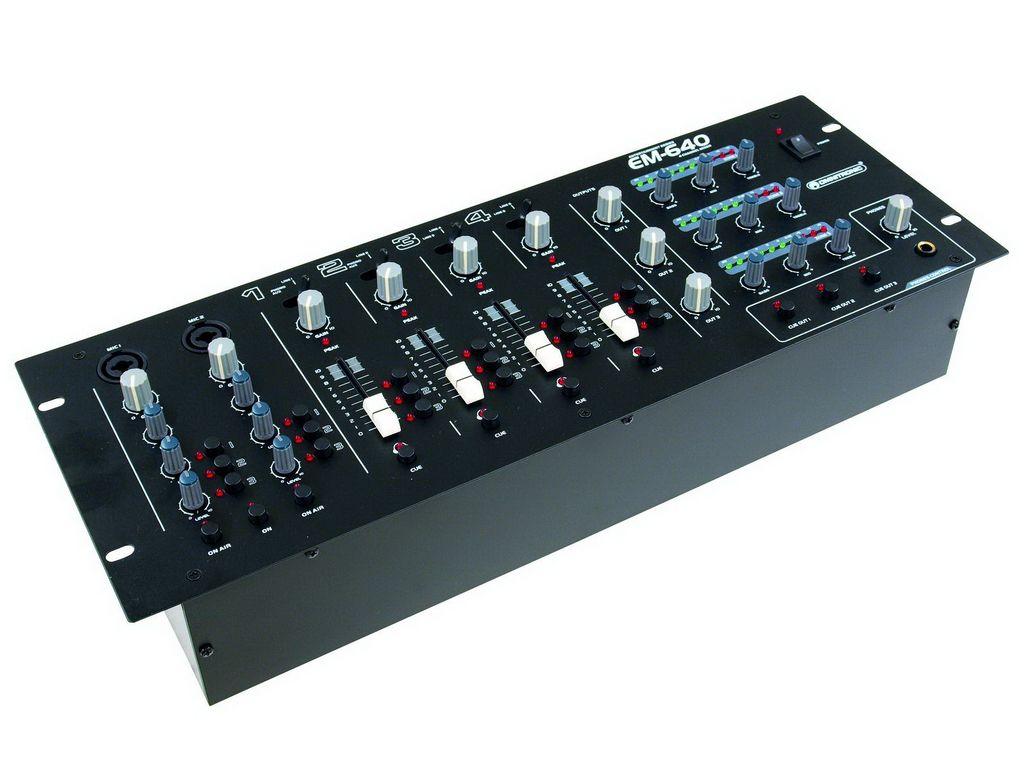 Omnitronic EM-640B Entertainment-Mixer