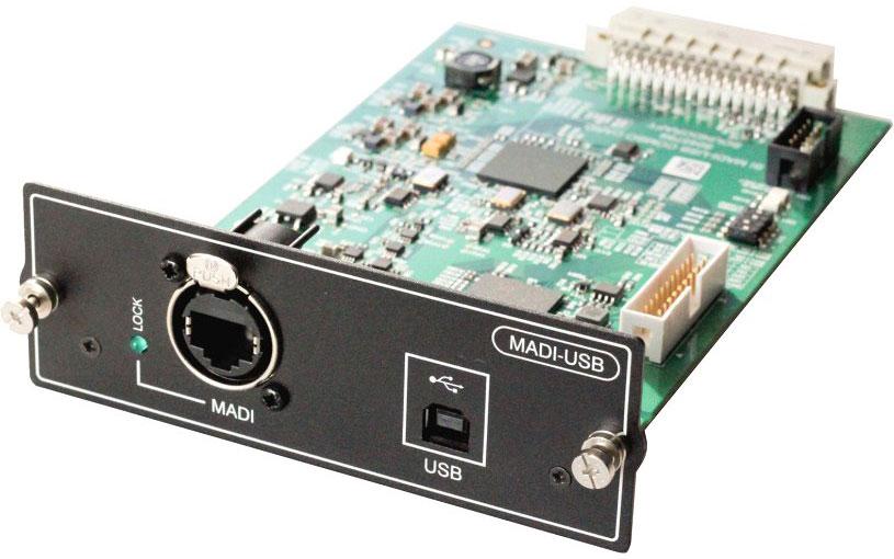 Soundcraft Si MADI/USB Karte