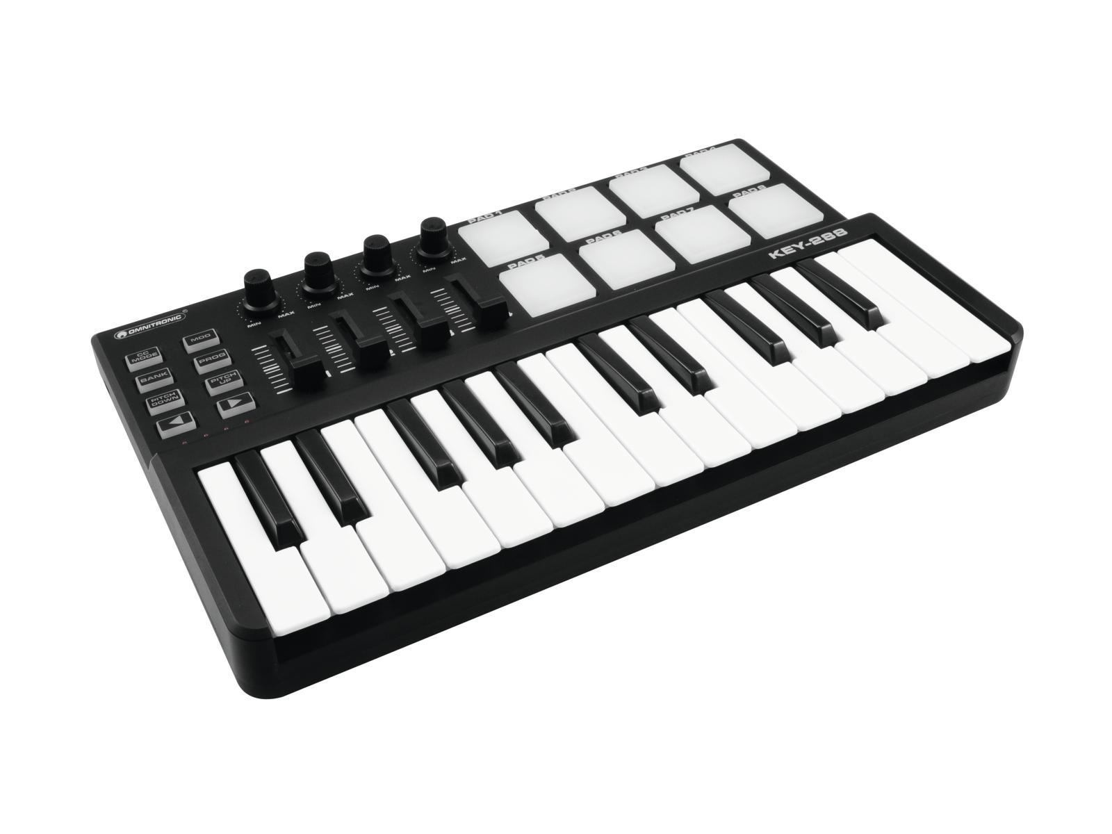 omnitronic-key-288-midi-controller