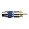dap-professional-cinch-stecker-goldbeschichtet-blau