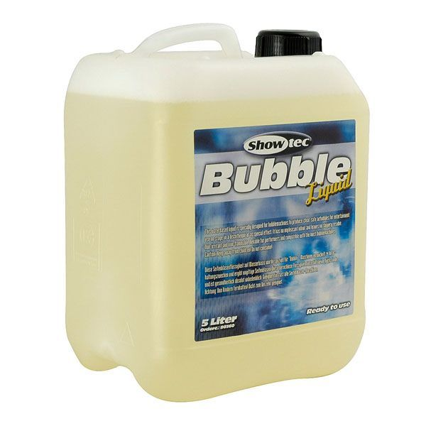 Showtec Bubble Liquid 5 Liter ready to use