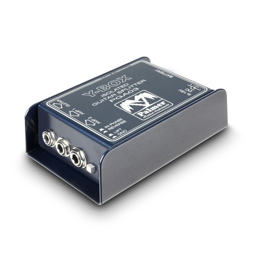 palmer-pga03-y-box-guitar-signal-splitter