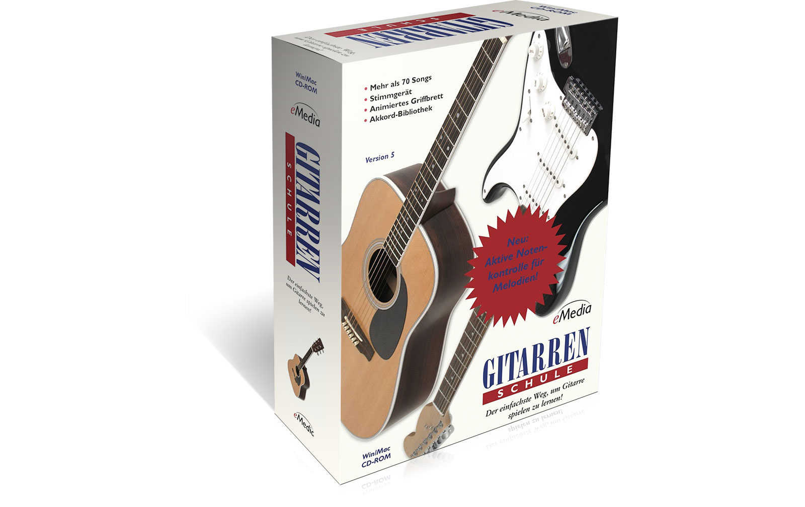 emedia-gitarren-schule-update-auf-v5, 19.95 EUR @ music-and-more-store