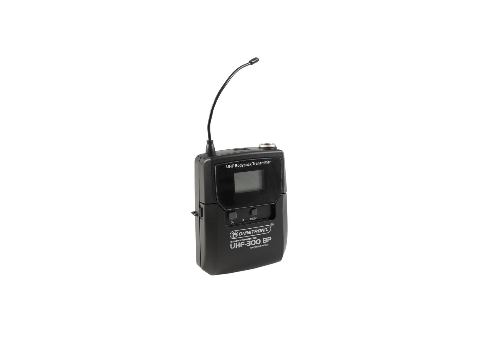 omnitronic-uhf-300-taschensender-823-832-863-865mhz