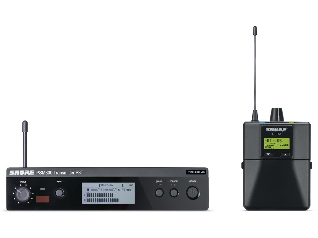 Shure PSM 300 P3TERA T11 Premium In-Ear System (863 bis 865 MHz)