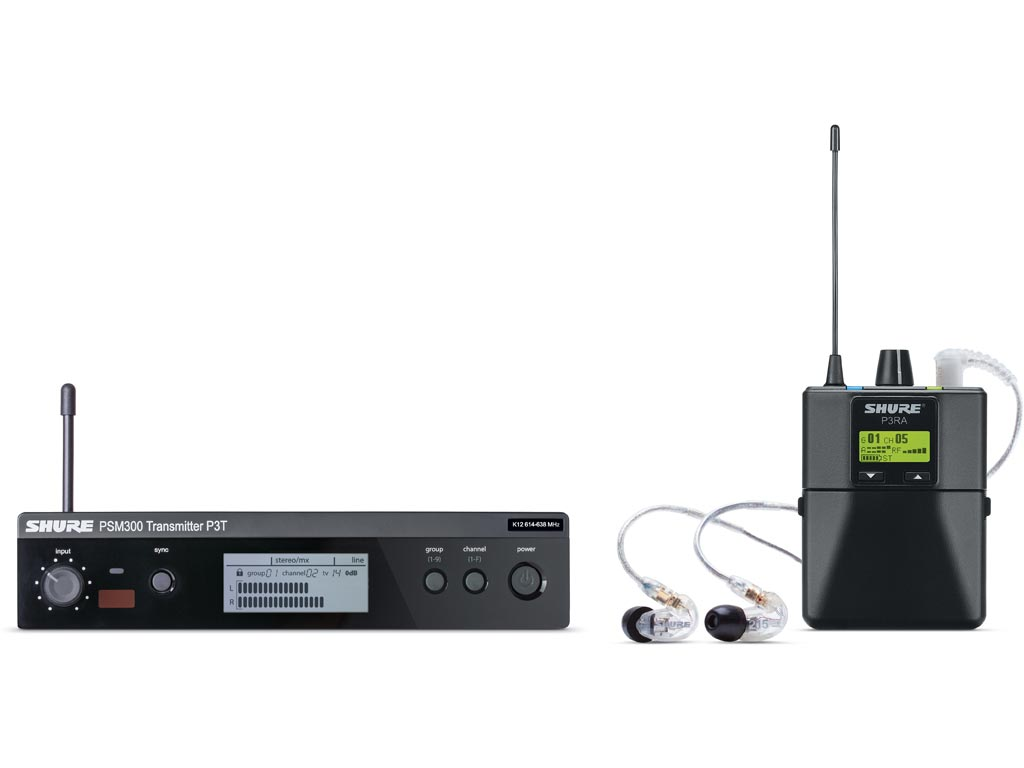 Shure PSM 300 P3TERA215CL L19 Premium In-Ear System (630 bis 654 MHz)