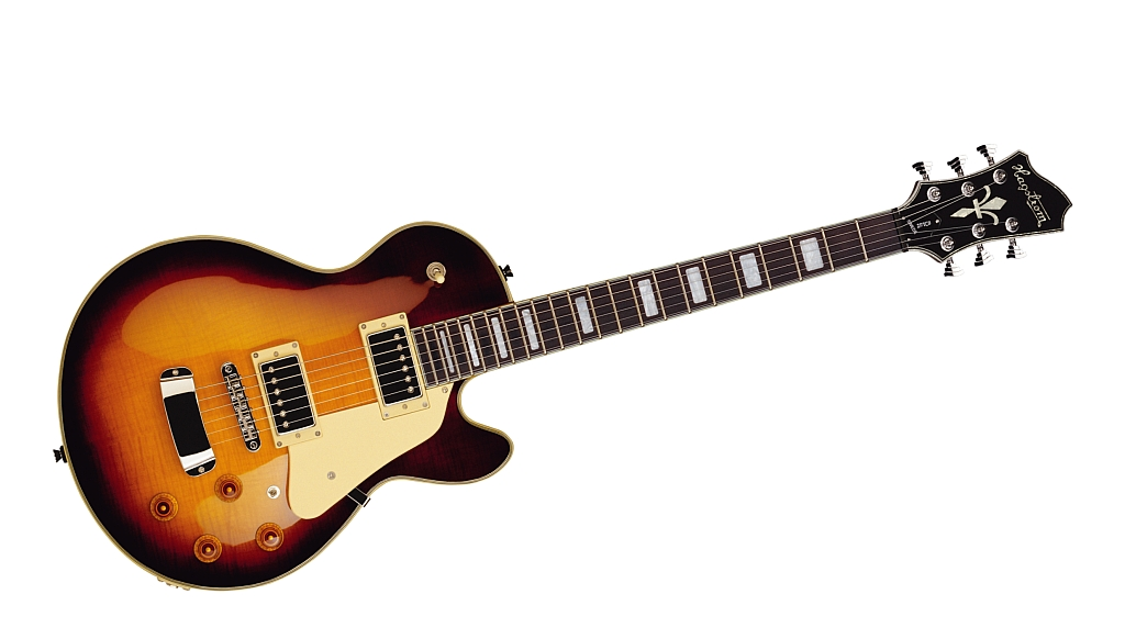 Hagstrom Super Swede Flamed Vintage Burst FLM VB