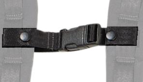 Hohner Querriemen Nylon, schwarz,