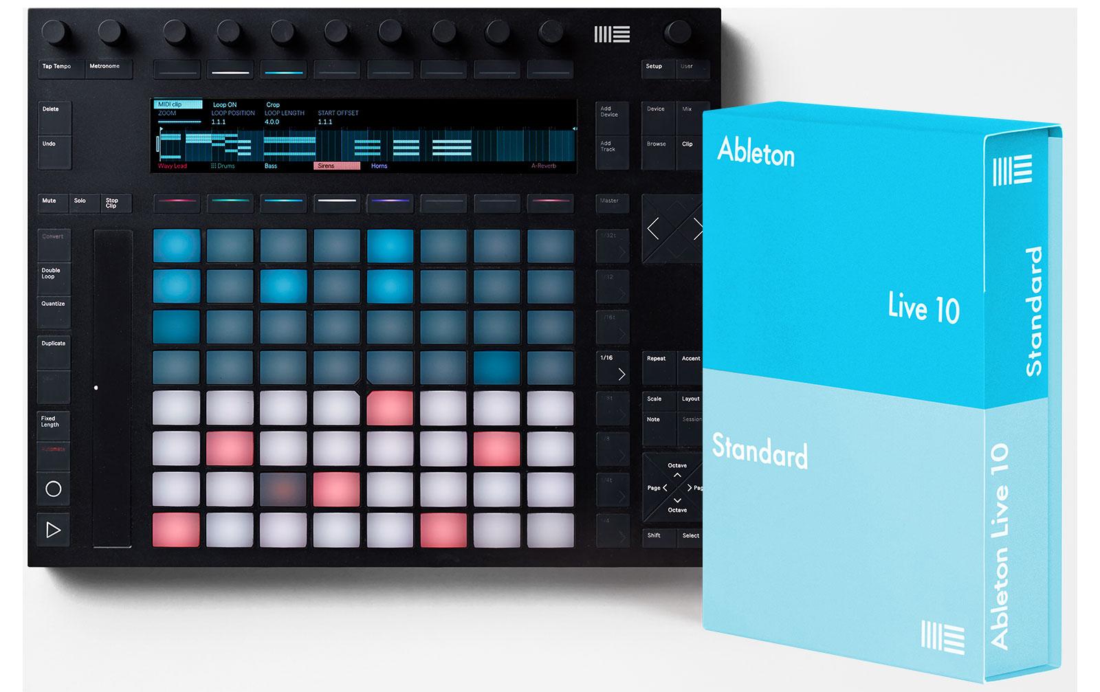 ableton-push-2-live-10-standard-bundle