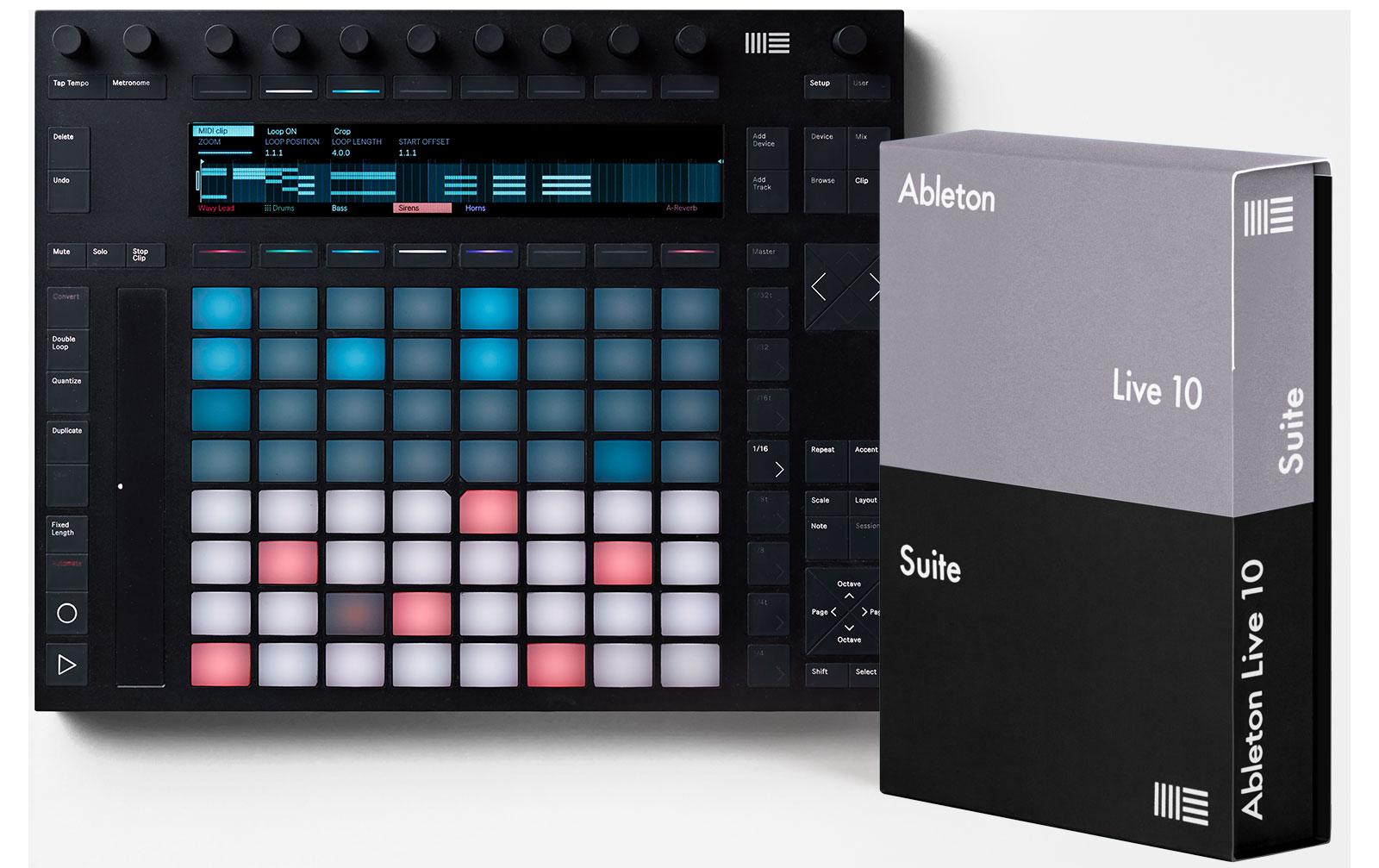 ableton-push-2-live-10-suite-bundle