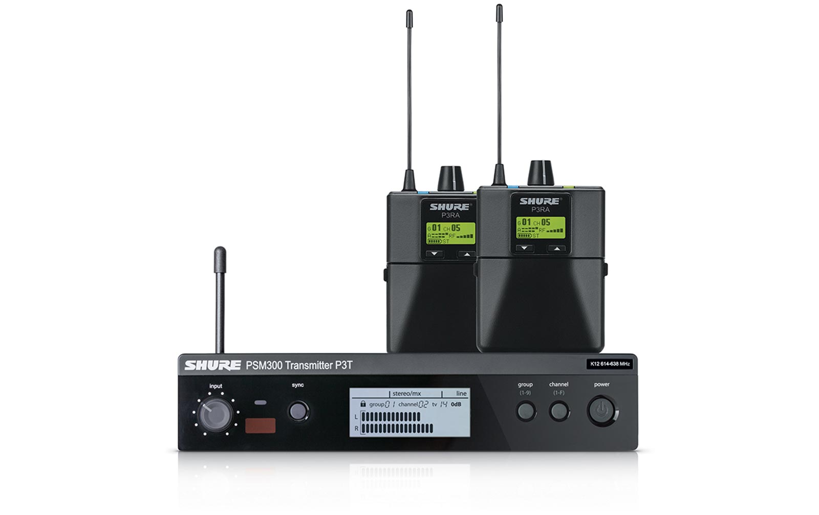 Shure PSM 300 Band Pack K3E (606 bis 630 MHz)