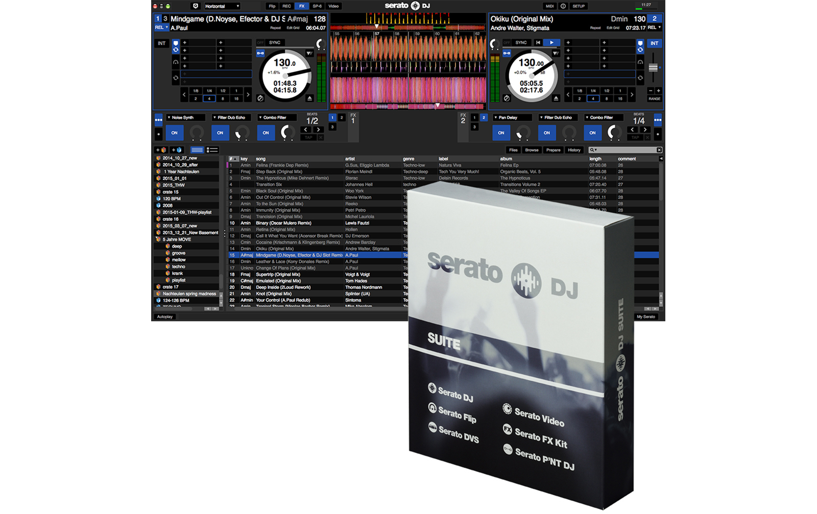 Serato DJ Suite (Box Version)