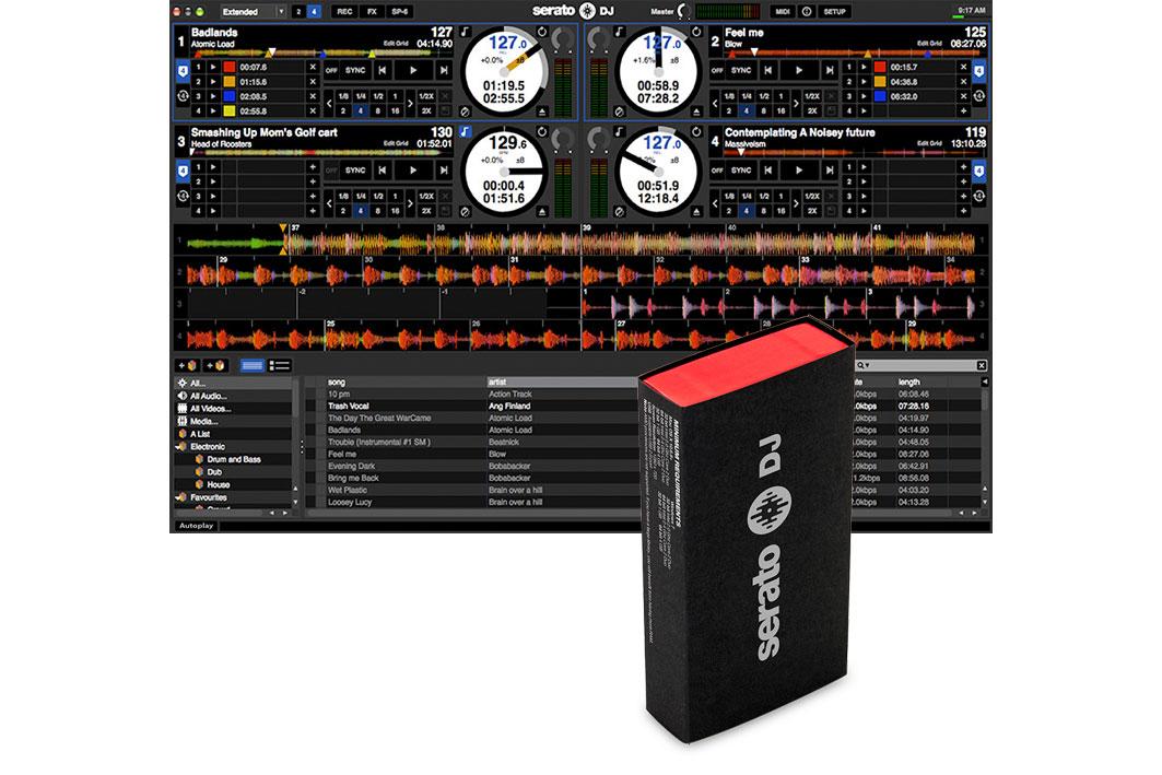 Serato DJ Software (Box Version) Upgrade für Serato DJ Intro