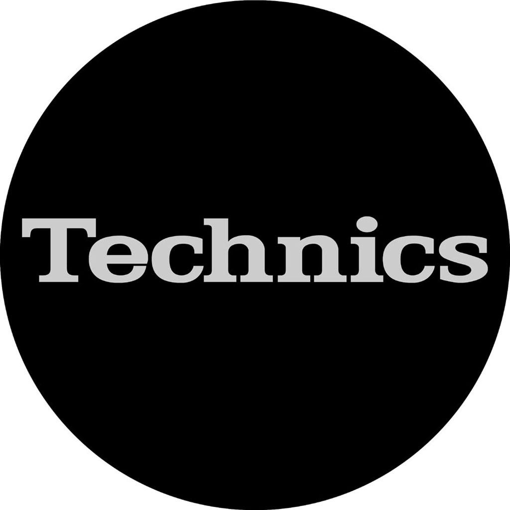 Magma LP-Slipmat Technics `Simple 2`, black/silver (60638)
