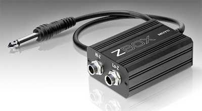 motu-zbox-guitar-impedanzanpassung