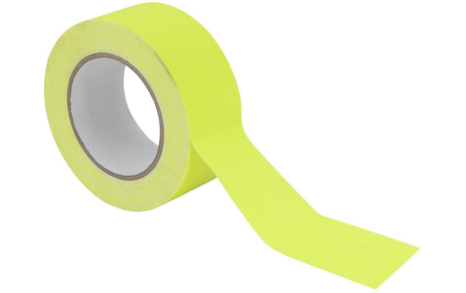 gaffa-tape-50mm-x-25m-neongelb-uv-aktiv