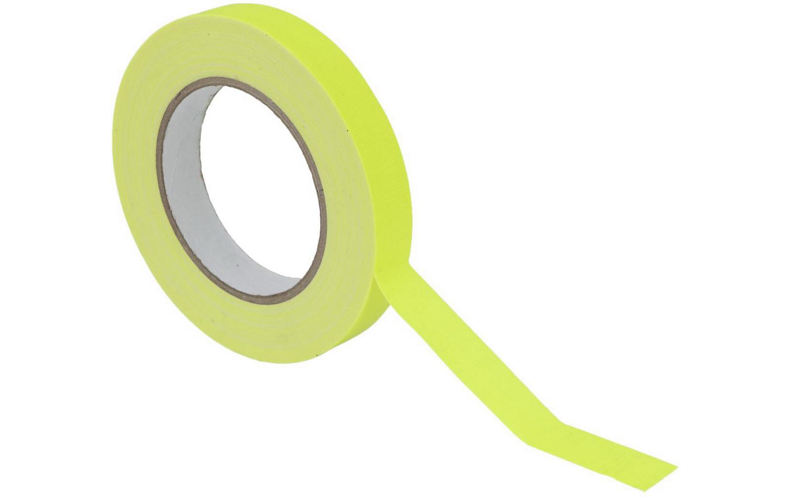gaffa-tape-19mm-x-25m-neongelb-uv-aktiv