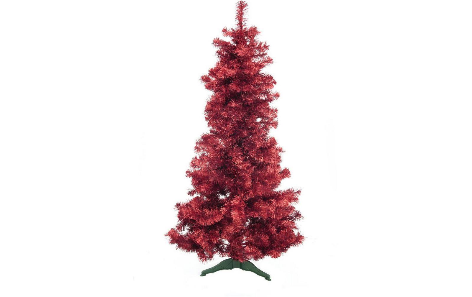 europalms tannenbaum futura rot metallic 180cm k nstlich g nstig online kaufen im music and. Black Bedroom Furniture Sets. Home Design Ideas