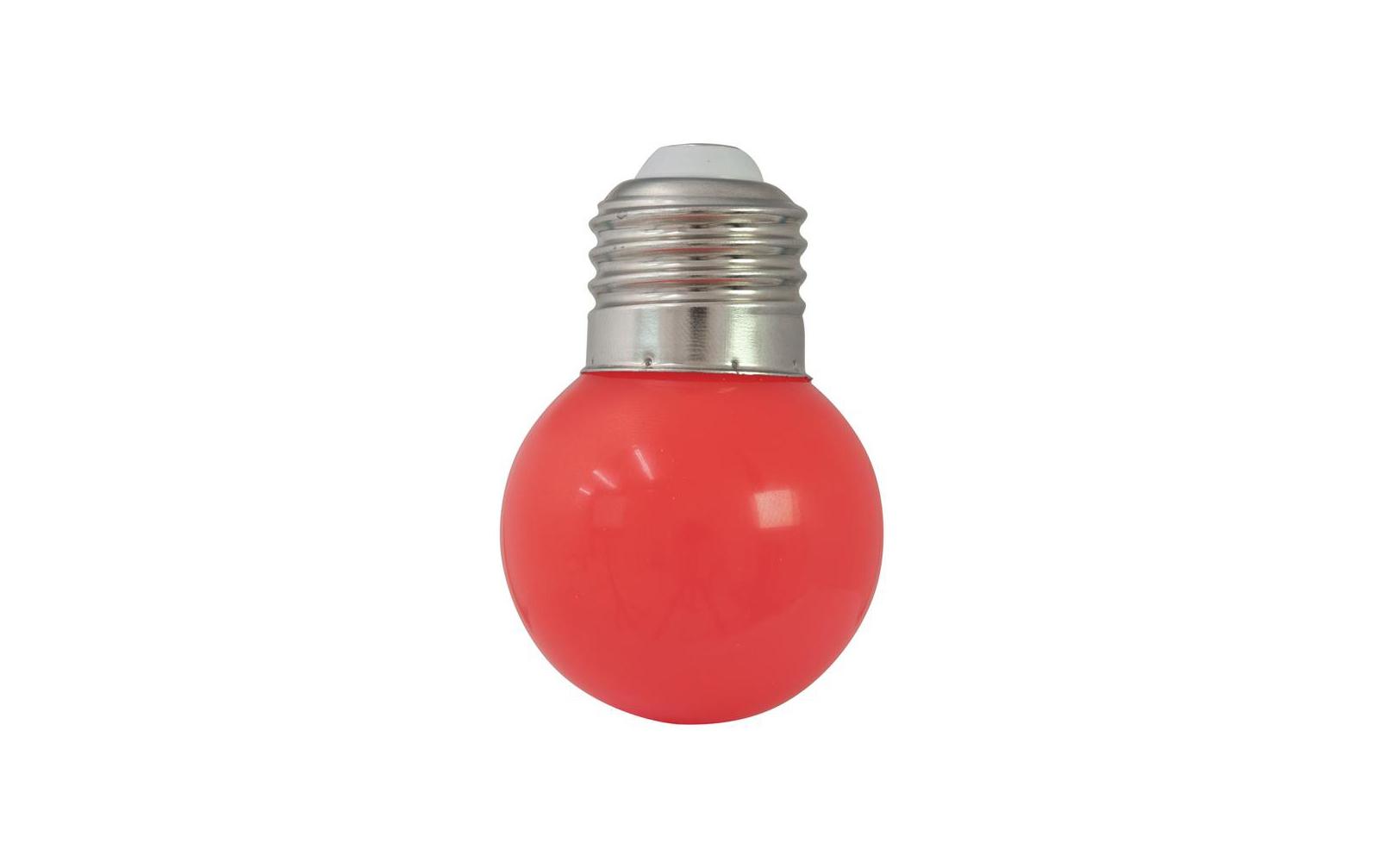 omnilux-led-g45-230v-1w-e-27-rot