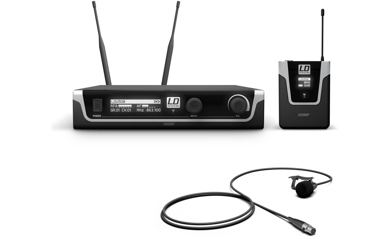 ld-systems-u508-bpl-funkmikrofon-system-mit-bodypack-und-lavalier-mikrofon