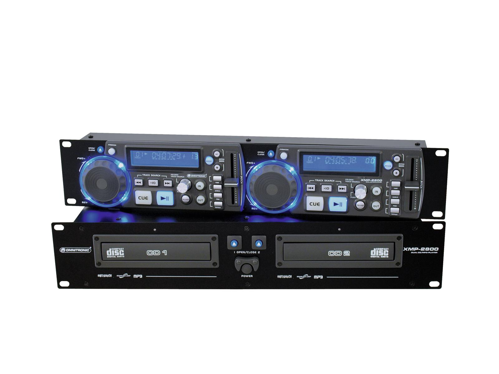 omnitronic-xmp-2800-dual-cd-mp3-player
