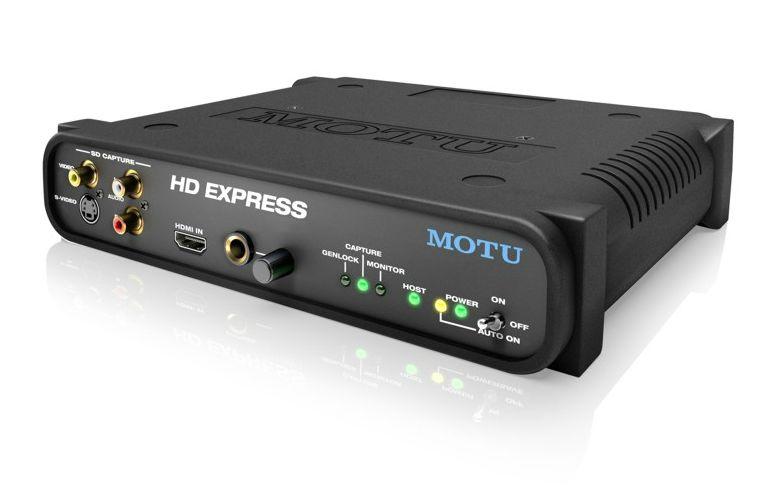 MOTU HD Express HDMI mit ExpressCard34