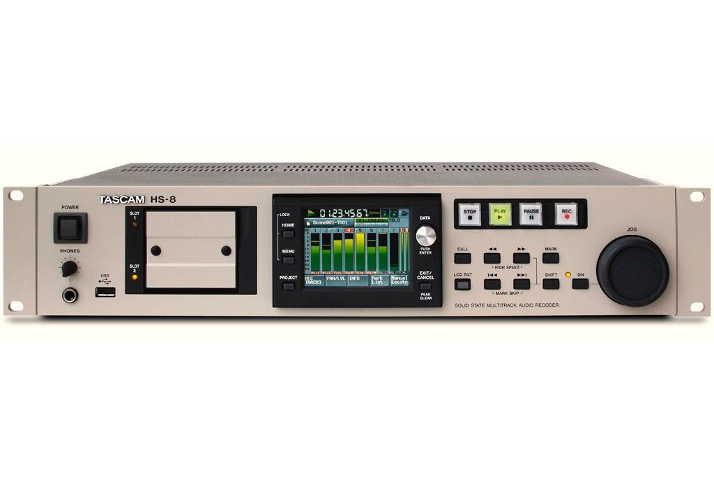 Tascam HS-8 8-Spur-Audiorecorder