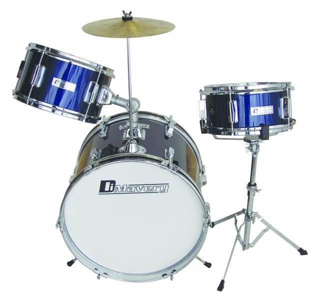 dimavery-jds-203-kinder-schlagzeug-blau