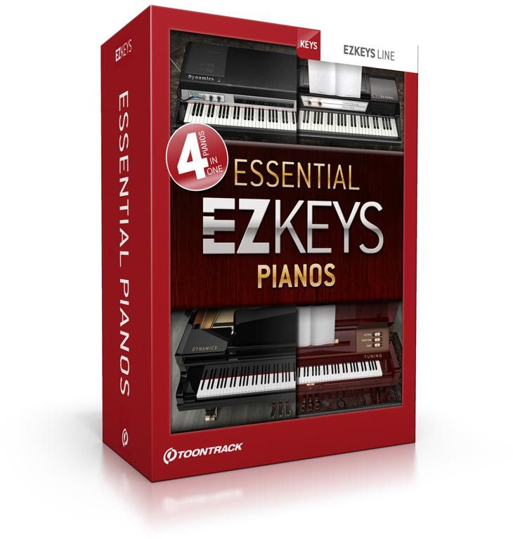 toontrack ezkeys essential pianos bundle g nstig online kaufen im music and more store. Black Bedroom Furniture Sets. Home Design Ideas
