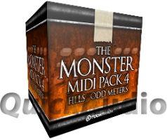 ToonTrack Monster Midi pack 4 - Odd Fills (Download)