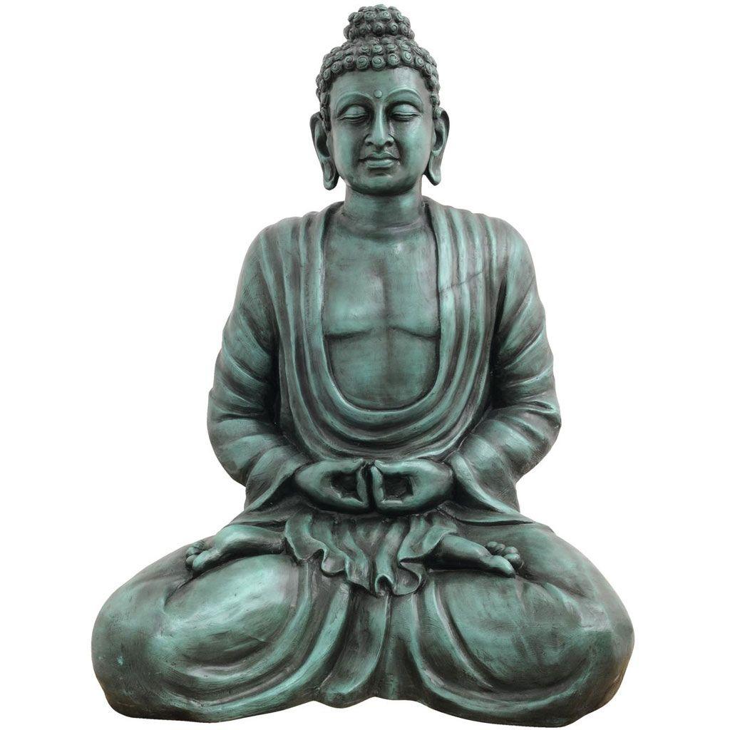 europalms-buddha-antik-schwarz-120cm
