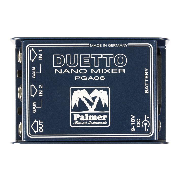 palmer-duetto-gitarren-und-line-summierer