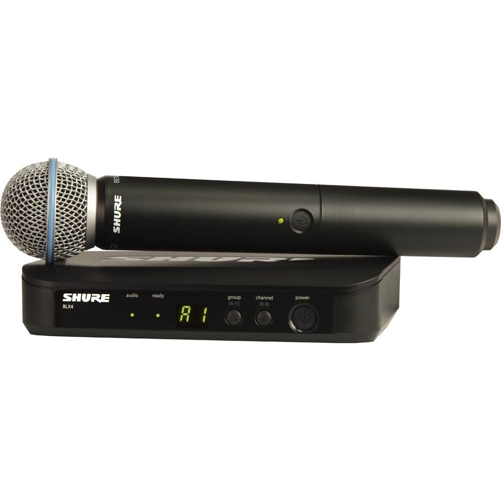 Shure BLX24/Beta 58 K3E Funksystem (606 bis 630 MHz)
