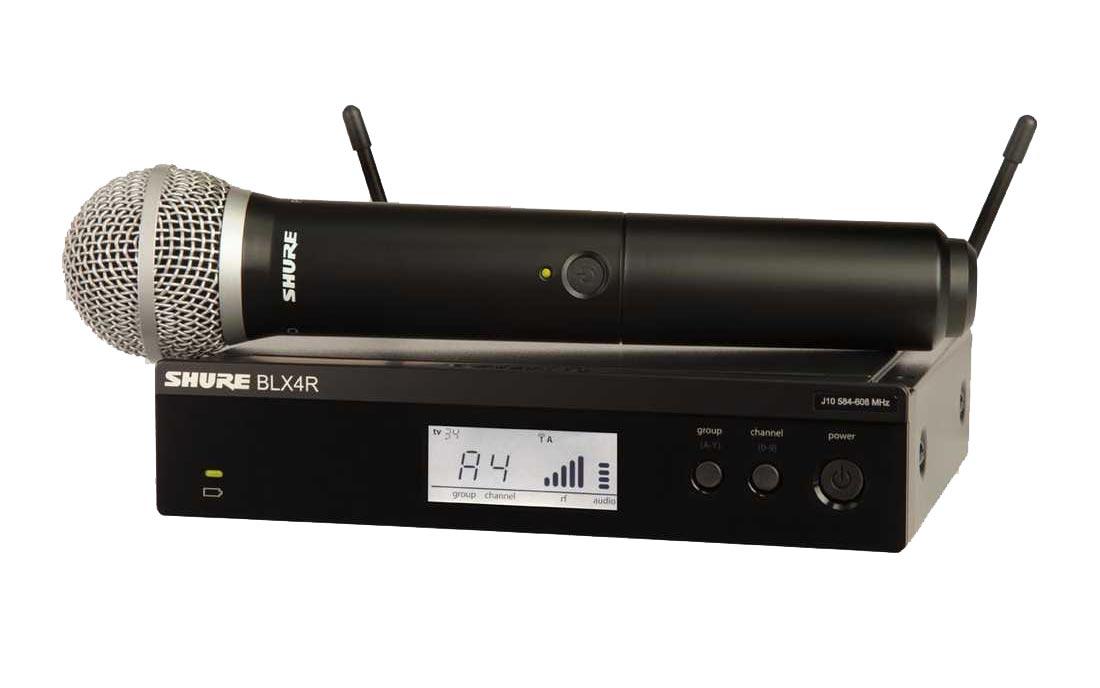 Shure BLX24R/PG58 K14 Funksystem (614 bis 638 MHz)