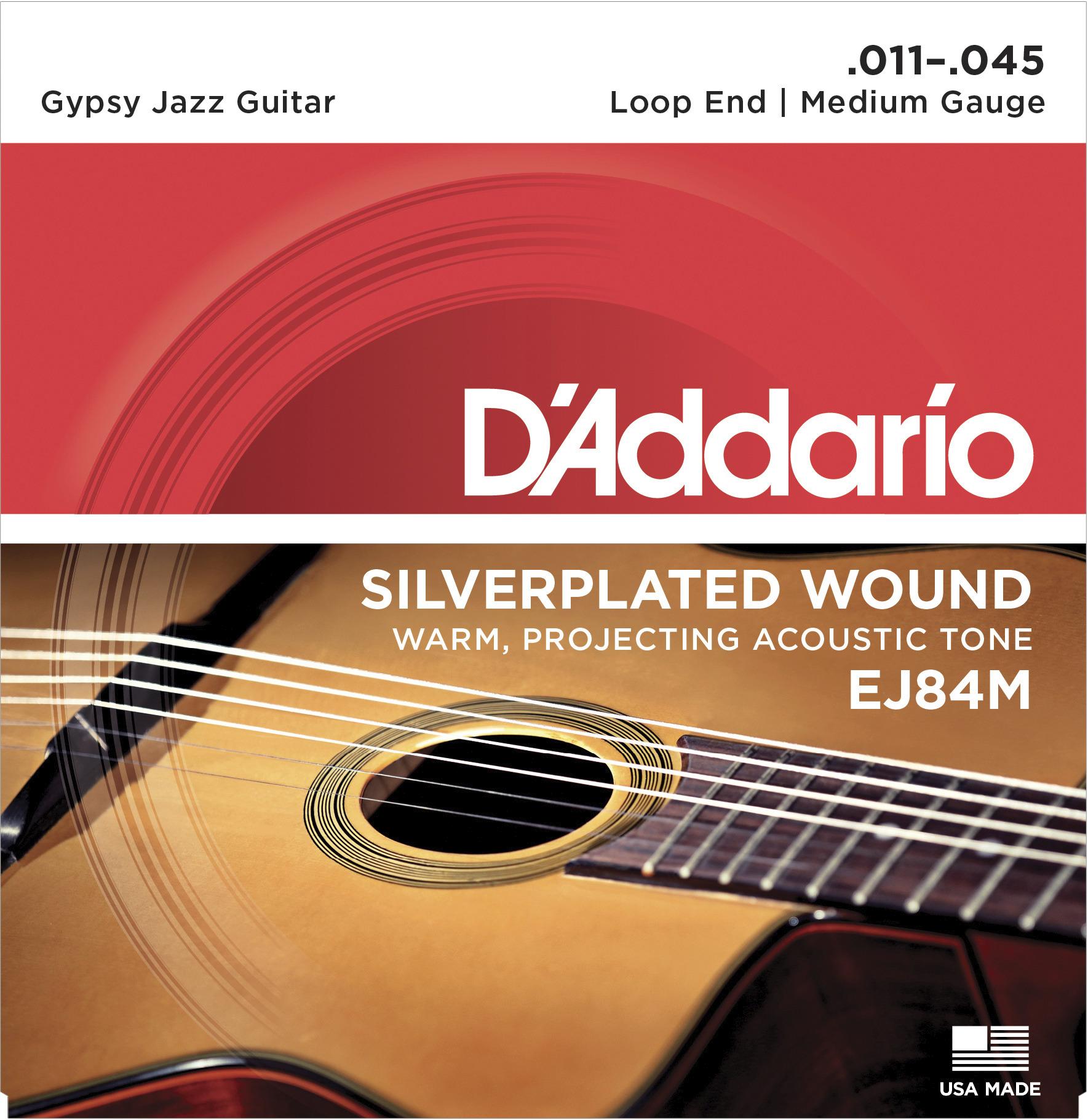 Daddario EJ84M Saitensatz für Westerngitarre