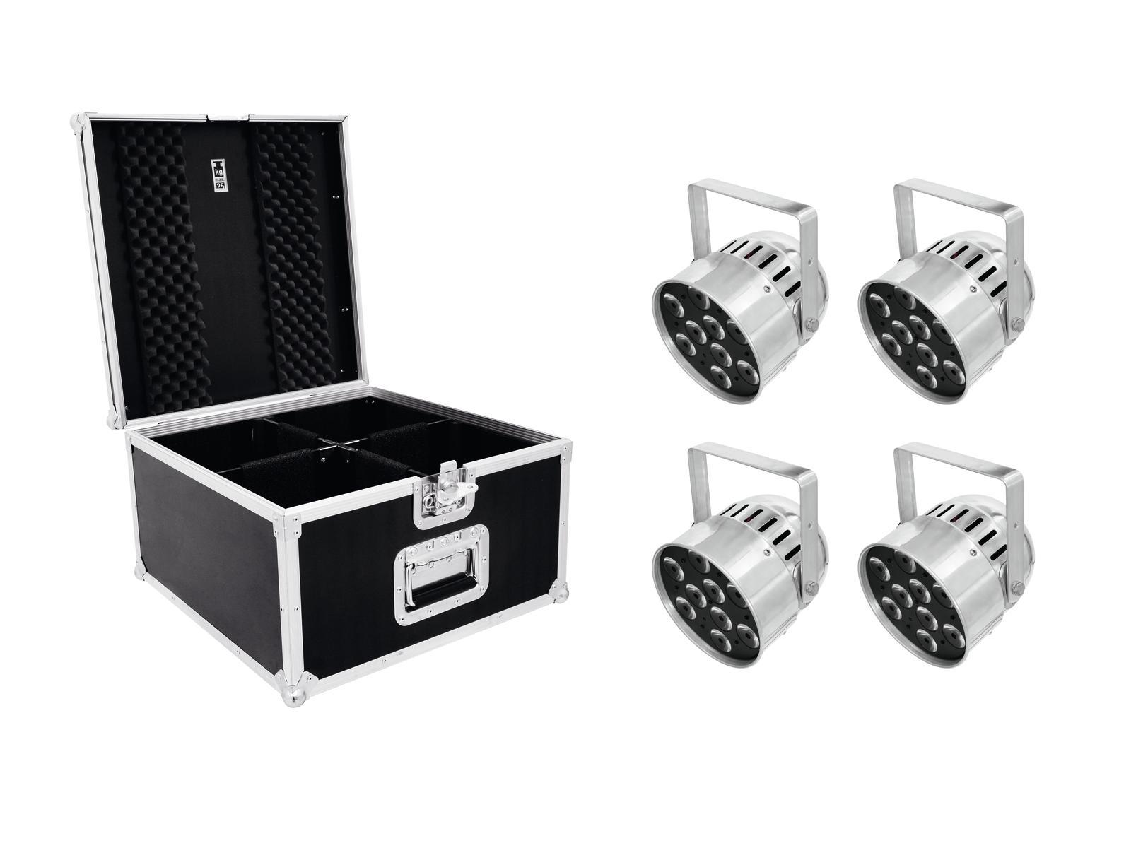 eurolite-set-4x-led-par-56-qcl-short-sil-pro-case