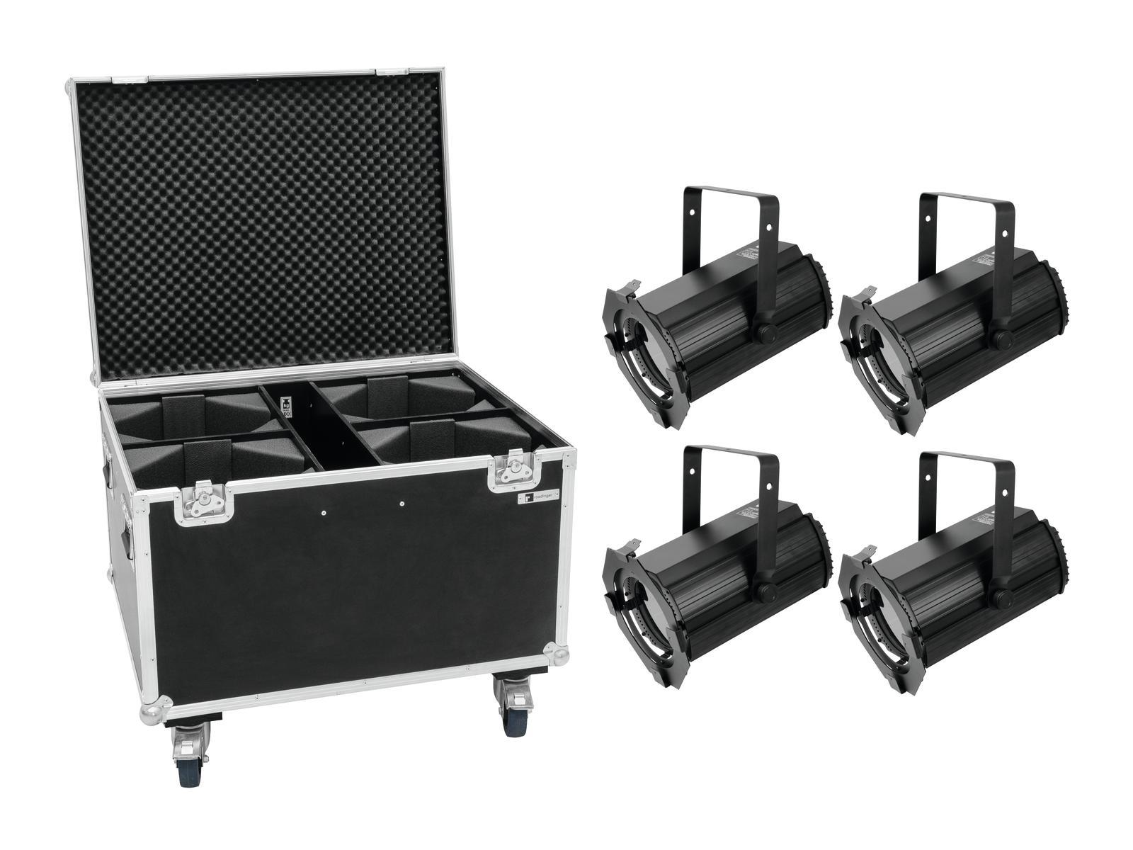 eurolite-set-4x-led-tha-100f-mk2-theater-spot-case