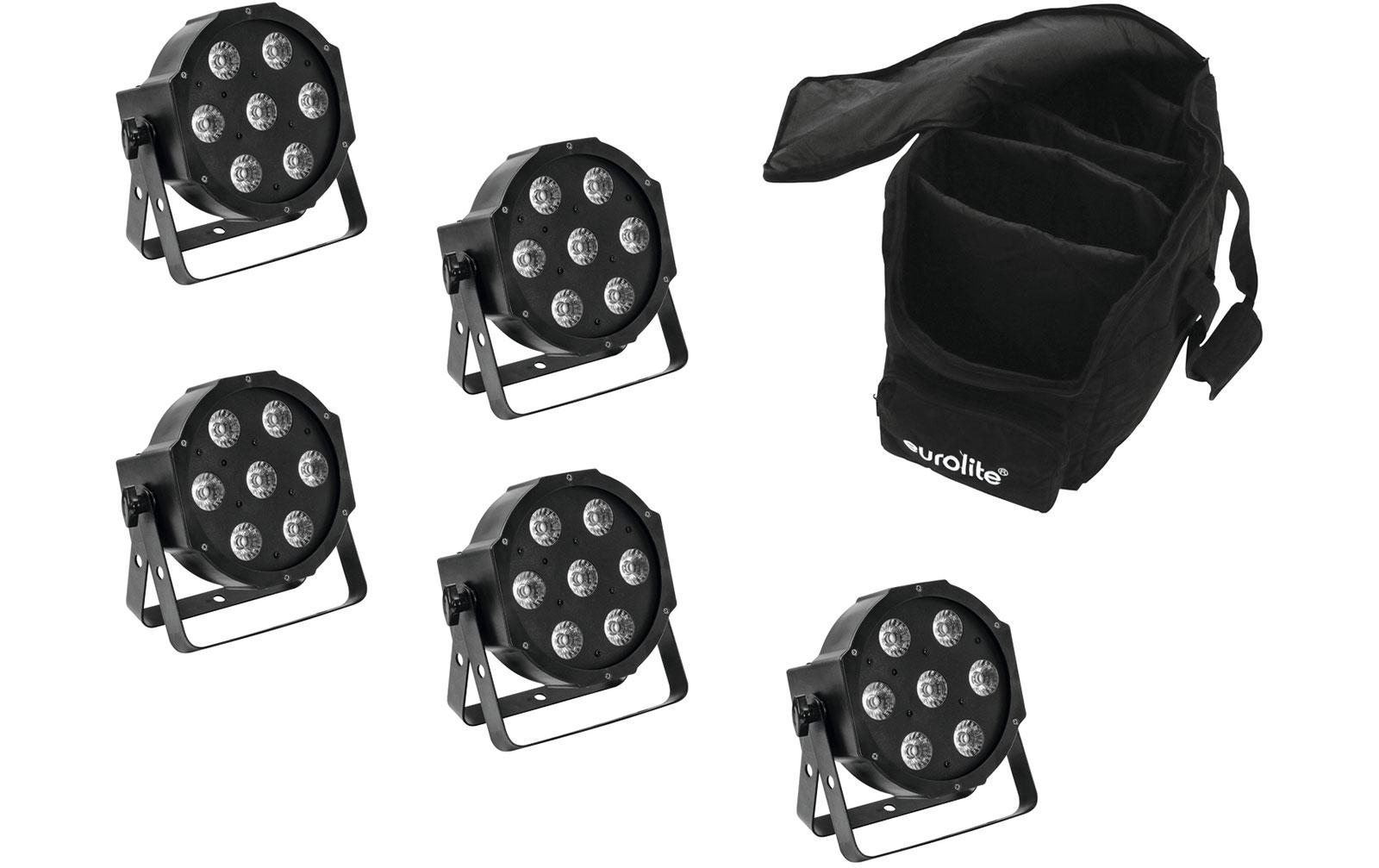 eurolite-set-5x-led-sls-7-hcl-spot-soft-bag