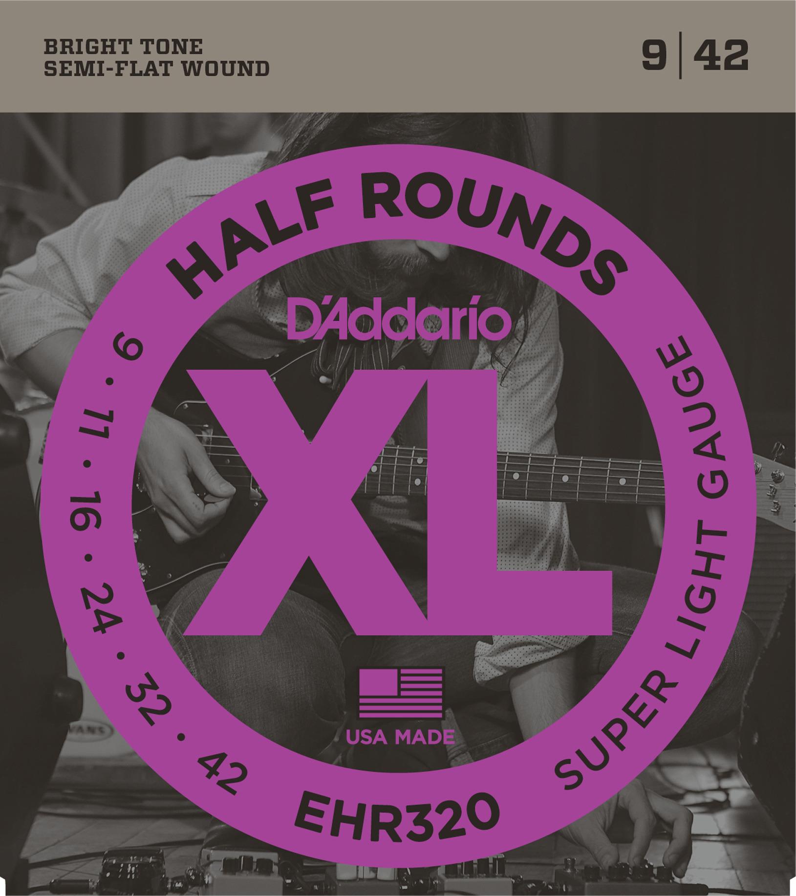 Daddario EHR320 Saitensatz für E-Gitarre 009-042