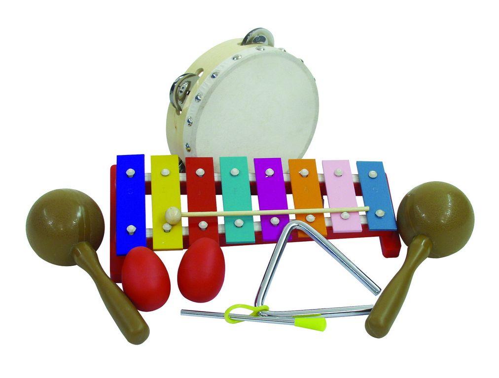 Dimavery Percussion-Set III, 7 Teile