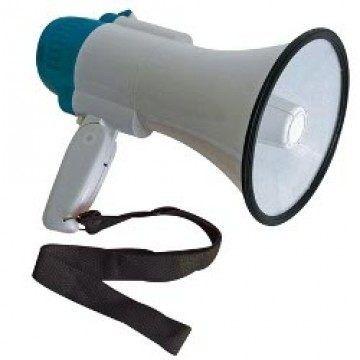 Megaphon 10W mit Sirene