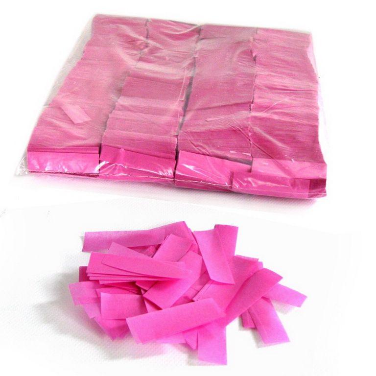 Magic FX Slowfall Konfetti Rechteck 55x17mm Pink Beutel