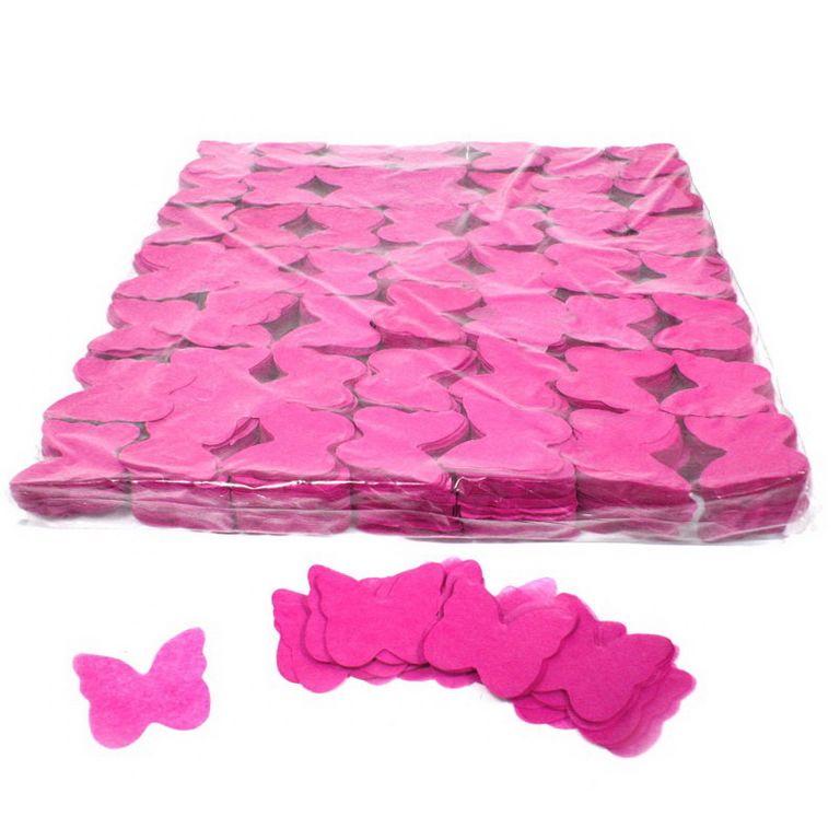 Magic FX Slowfall Konfetti Butterflies Ã?55mm Pink Beutel