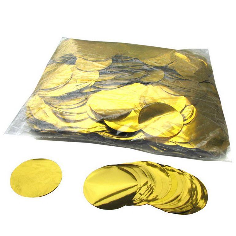 Magic FX Metallic Konfetti Kreis Ã?55mm Gold Beutel