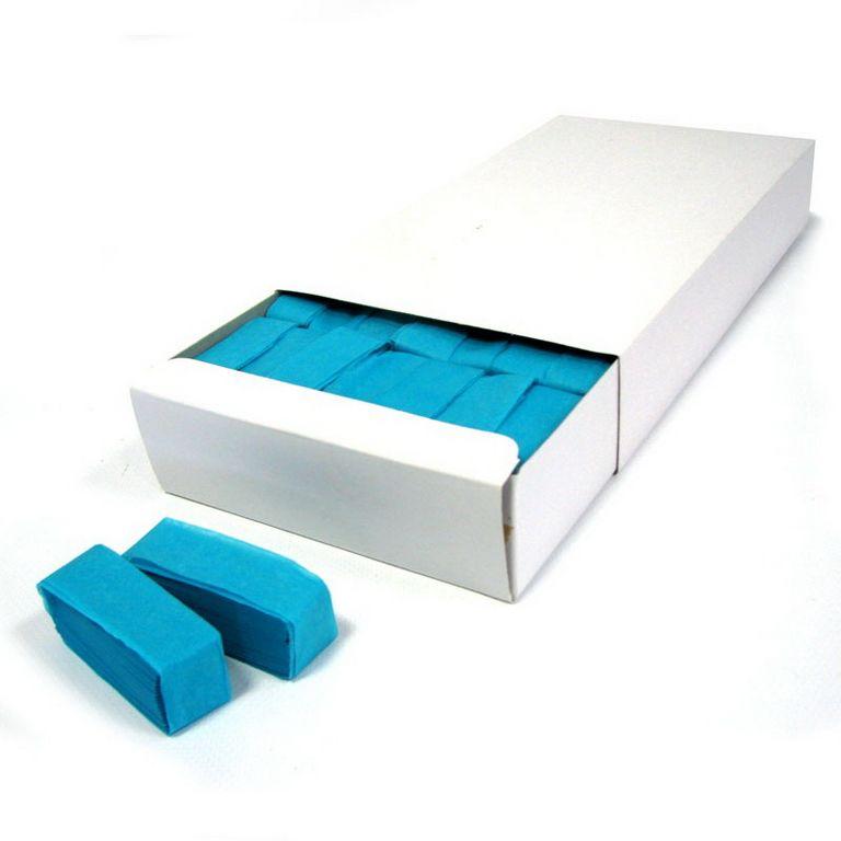 Magic FX Slowfall Konfetti Rechteck 55x17mm Hellblau Box