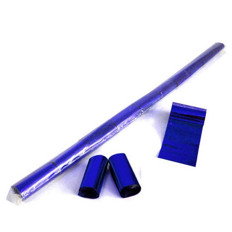 Magic FX Metallic Luftschlangen 10m x 5cm Blau Beutel