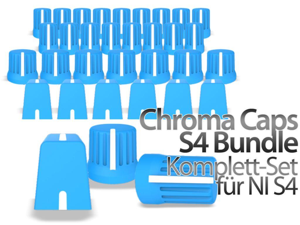 DJ TechTools Chroma Native Instruments S4 Bundle blue