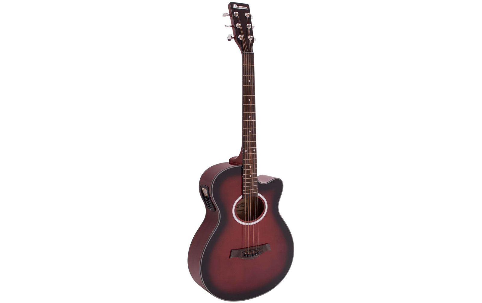 dimavery-aw-400-western-gitarre-redburst