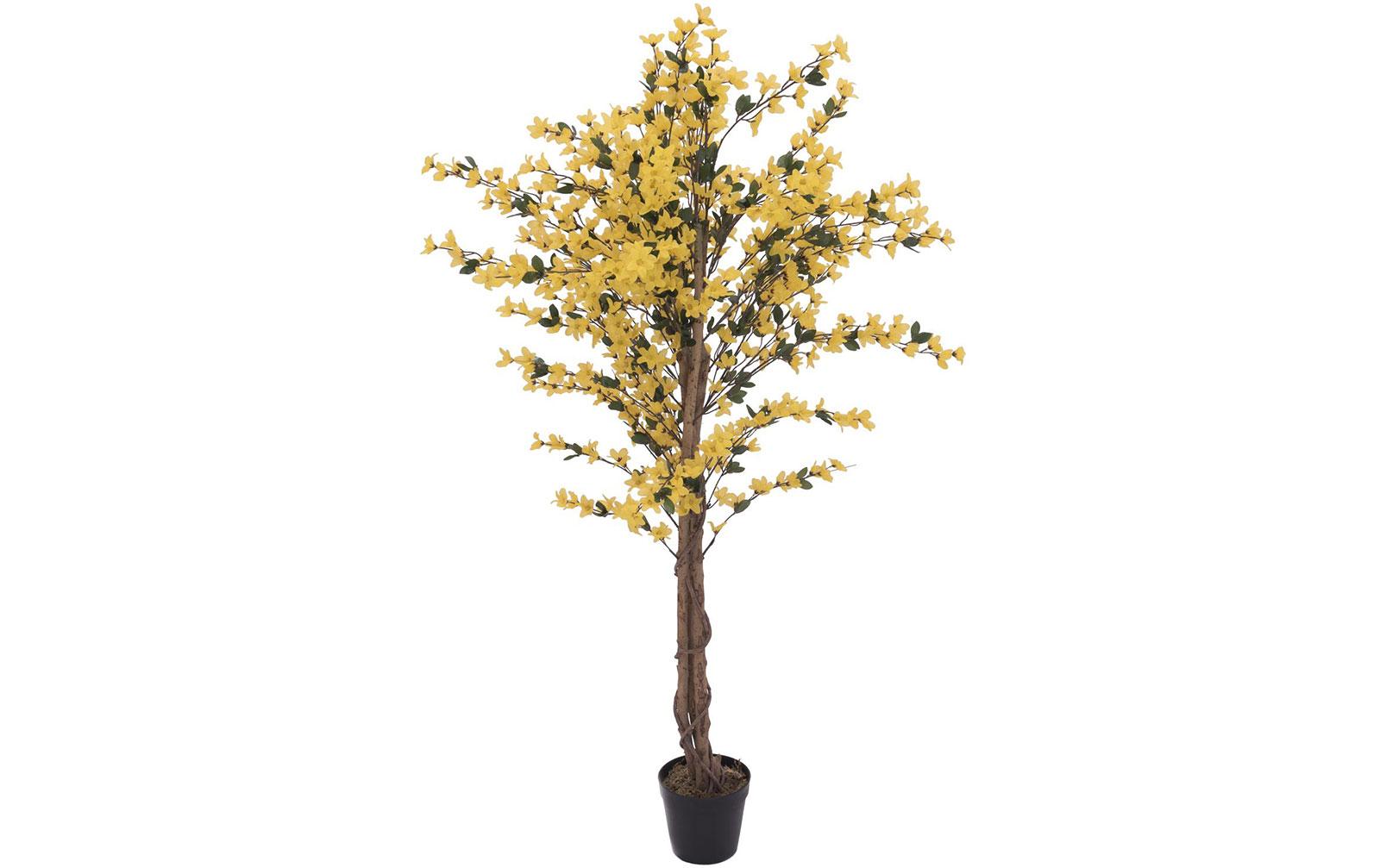 europalms-forsythienbaum-mit-4-sta-mmen-gelb-150-cm-kunststoffpflanze